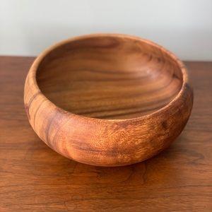 Crate&Barrel wooden bowl